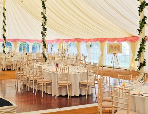 עצות להצגת אוהלים בחתונות חוץ